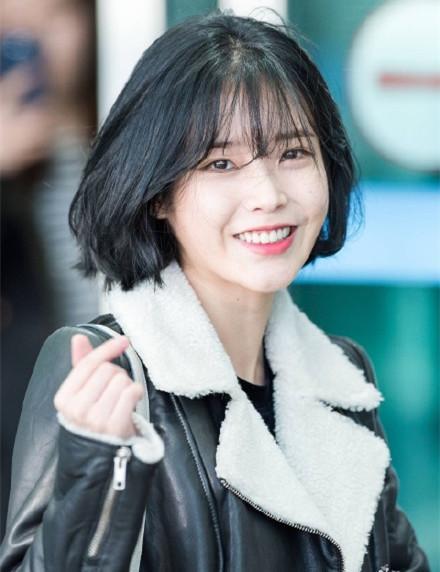 李智恩短发图片