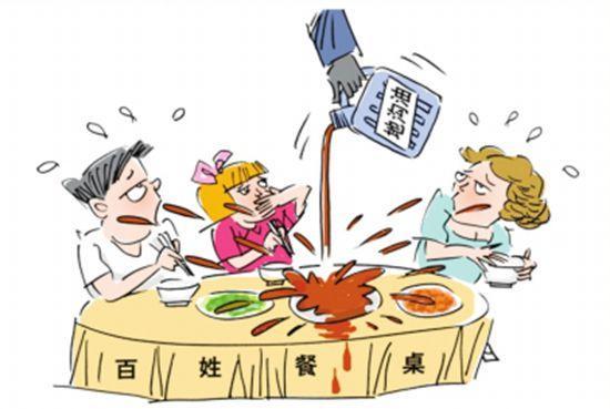 """河北严防""""地沟油""""回流餐桌"""