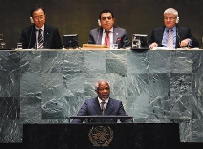 联合国前秘书长科菲·安南去世图片