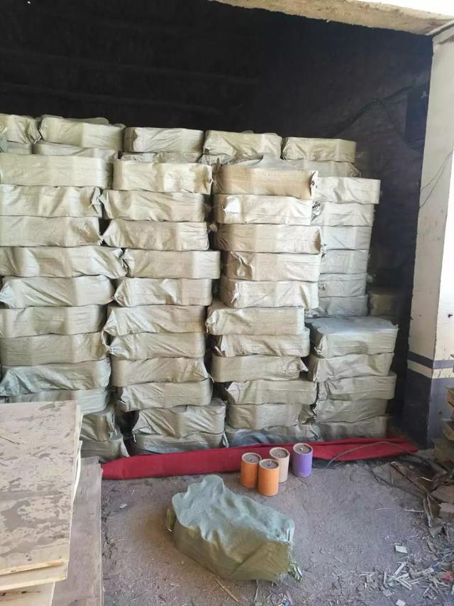 沧州黄骅警方成功捣毁一非法制造烟花爆竹窝点