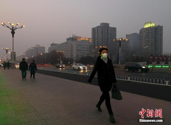 京津冀区域1月空气质量明显好转