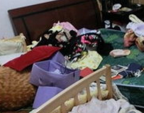 唐山建设村发生入室盗窃事件 市民注意