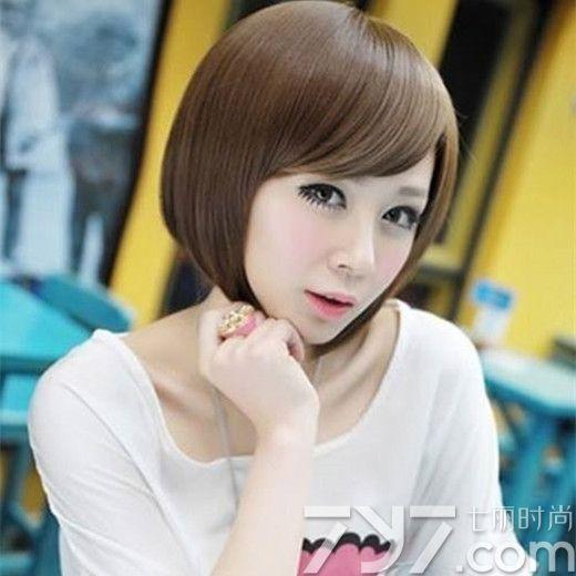 女生蘑菇头发型图片 可爱又减龄显嫩