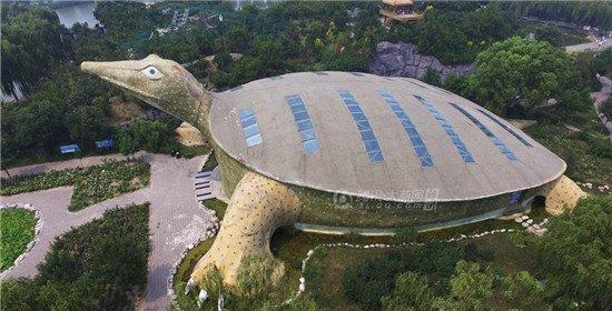 走近河北金鳖馆:世界最大的鼋型建筑