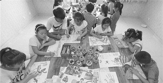 衡水小学生创意绘画乐享暑假