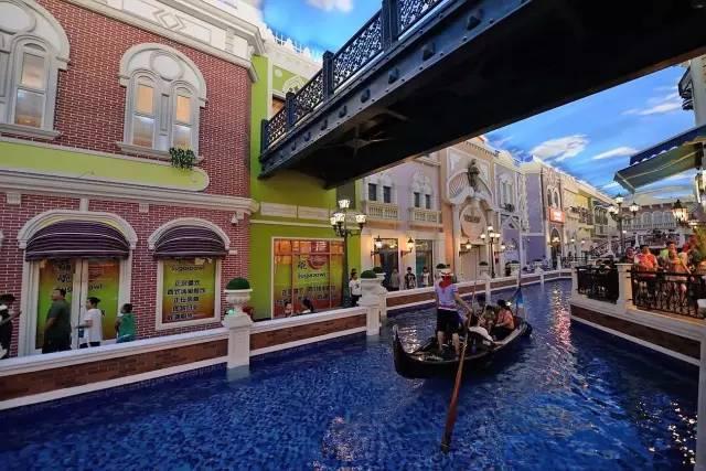 最具国际范儿 石家庄威尼斯风情街