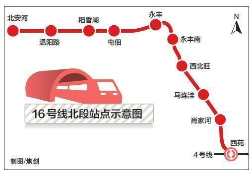 """16号线北段月底试运行 探营北京地铁""""升级版"""""""