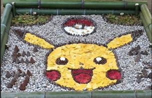 惊艳!日本落叶艺术作品风靡社交网络