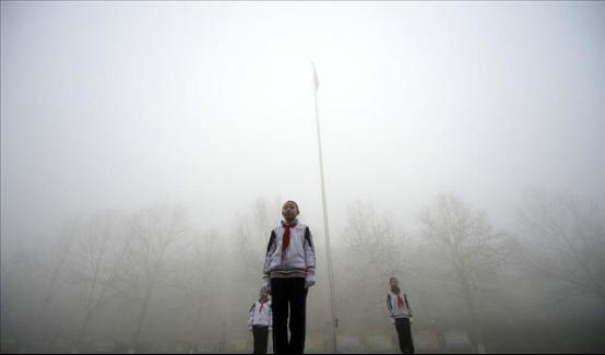 北京雾霾红色预警,直播为教学开绿灯