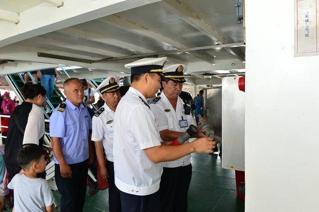 保安全 送服务 秦皇岛海事局护航河北第二届旅发大会