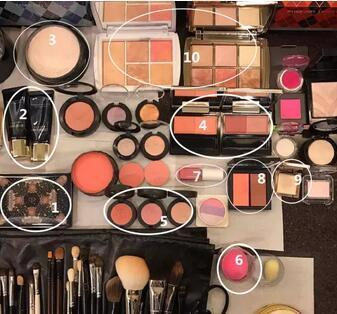 深扒明星御用化妆师最爱用的彩妆!有没有和你一样的~