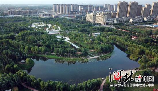 """廊坊两年实施30项重点工程为城区增""""绿"""""""