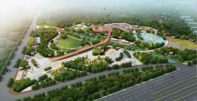 效果图首次公布!邢台2018年将新建50个游园绿地