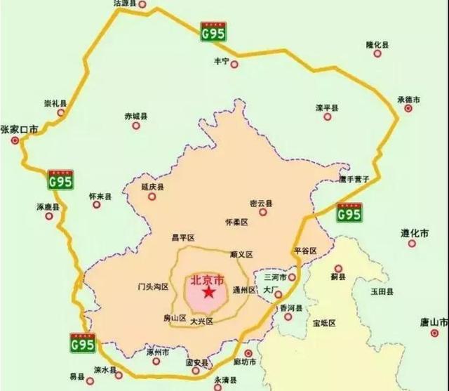 """京津冀1小时""""旅游圈""""即将上线!沿线都有哪些美景?"""