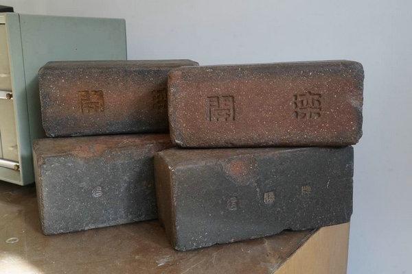 京张铁路车站收藏百年开滦砖
