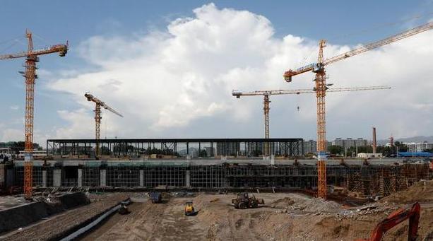 京张高铁张家口南站工程建设稳步推进