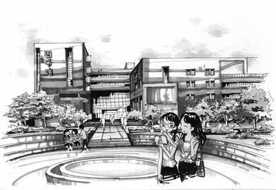 b廊坊一大学生手绘9所学校明信片年赚10万元
