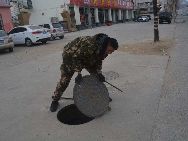 昌黎中队开展水源普查活动