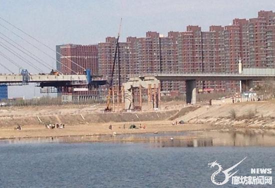 廊坊人注意!燕郊潮白河大桥即将完工!