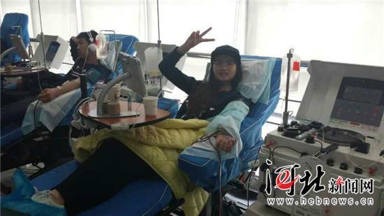 赞!石家庄19岁大学生组建身分血献血团队