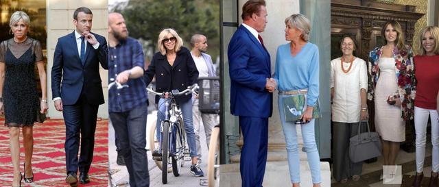 揭秘法国总统马克龙妻子的日常