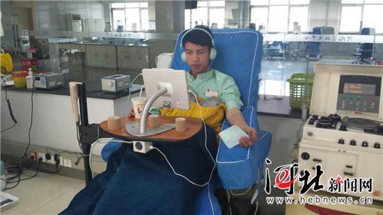 赞!石家庄19岁大弟子组建身分血献血团队