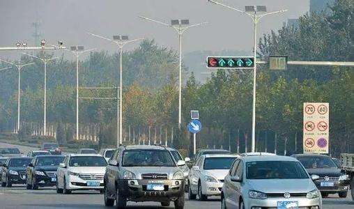 河北发布限行新政 部分车辆禁入主城区