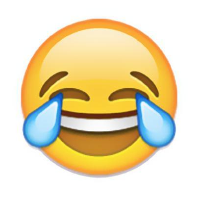 """报告称""""笑哭""""为全球本年度最受欢迎表情符号图片"""