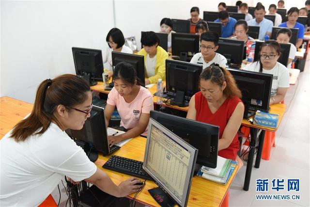 河北景县:学技能 助就业