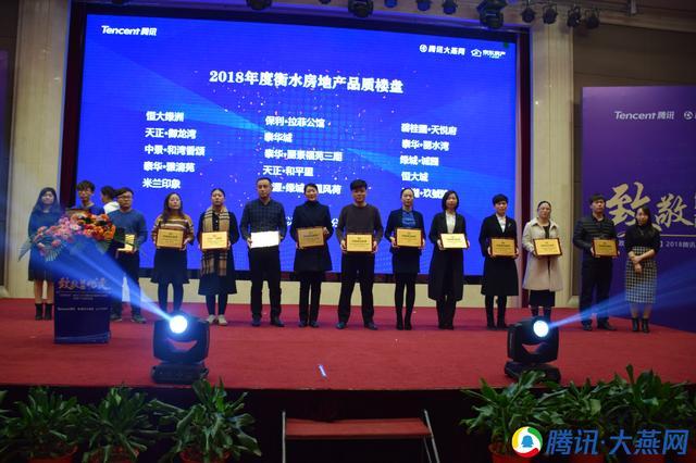 2018腾讯区域影响力盛典落幕 泰华地产斩获多项大奖
