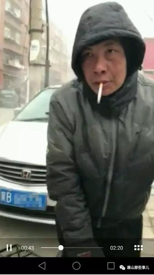"""被曝光多次的唐山""""碰瓷帝""""依旧在马路上行骗"""