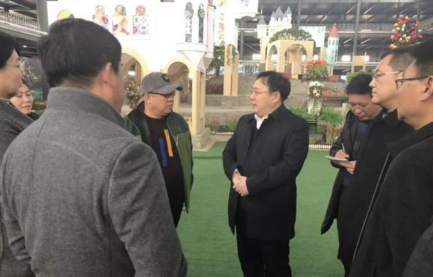 张永新赴唐山市凤凰花卉进行调研