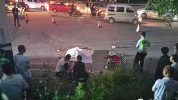 惨烈!昨傍晚河北张家口两人遭大车碾压身亡!