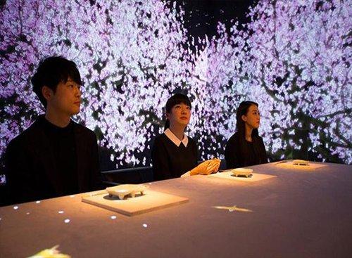 """日本现虚拟餐厅:主打用""""眼睛""""吃饭height=""""196"""""""