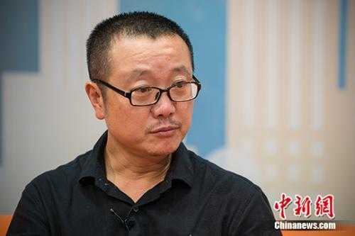 《三体》作者刘慈欣:用文字表现科幻是迫不得已
