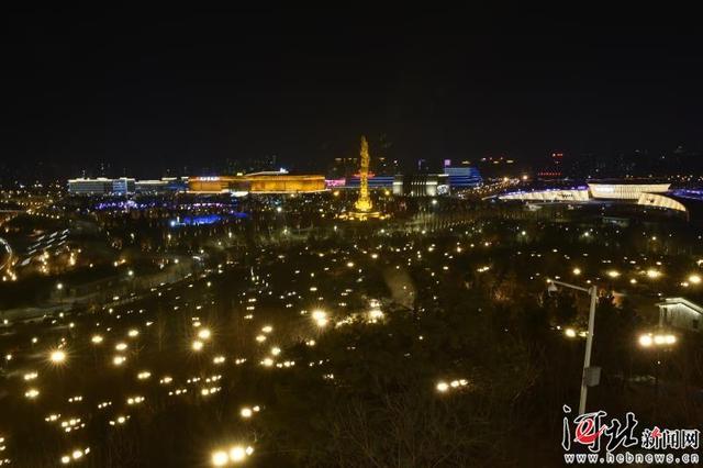 【新春走基层】春节赏灯好去处,唐山南湖等你来