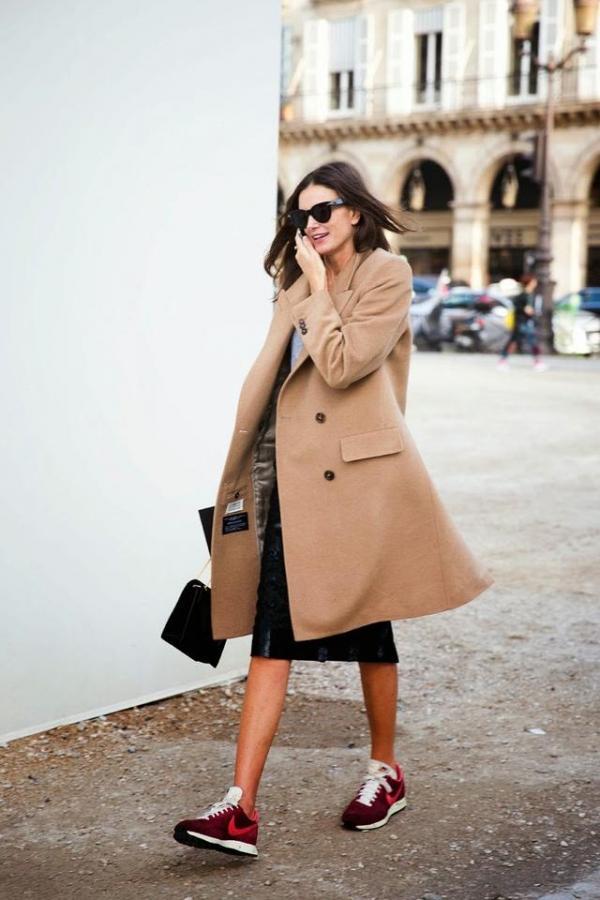 驼色毛呢大衣搭配图片 总有一款适合你