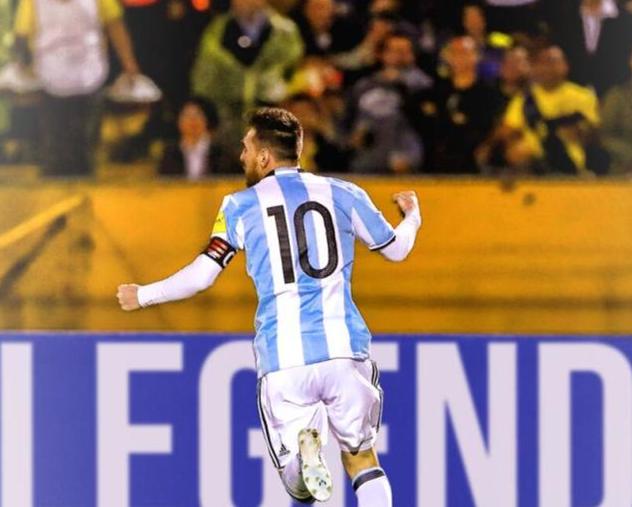 梅西当了一次老马!他就是阿根廷魂 用足球说话