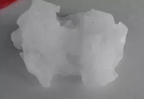 """白洋淀现天外来""""冰"""" 重约百斤疑为罕见陨冰"""