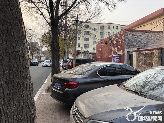 廊坊:人行道盲道被占 市民无路可走