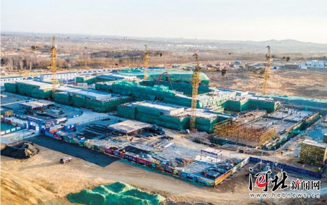 河北省第二届园林博览会主场馆主体完成