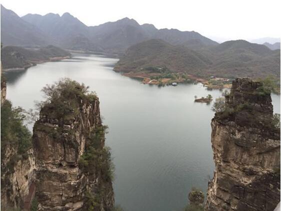 易水湖。 图片来源于网络