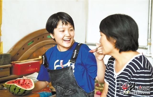枣强女孩王心仪的励志故事:追逐梦想 一路前行