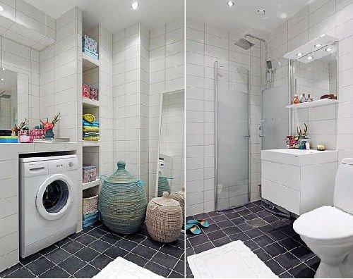 卫生间收纳隔断设计 12个卫浴间案例精选推荐
