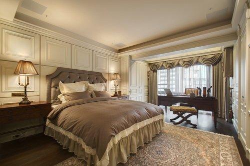 """家居 六安 海外  [ 导读]卧室床头不能有梁柱压顶,这样会造成""""横梁图片"""