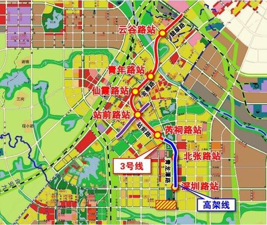 置业肥西的人们有福了!地铁3号线将南延至肥西县城设8个站点