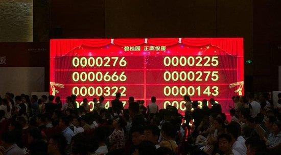 """1200人疯抢364套房源!市区精装高层仅卖1.2万元/㎡ """"小滨湖""""强势爆发!"""