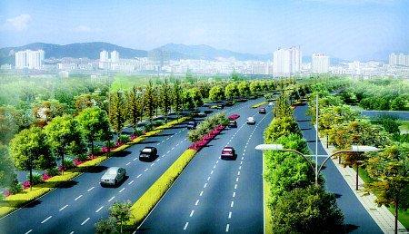 城区一批新路途项目归入大建立方案
