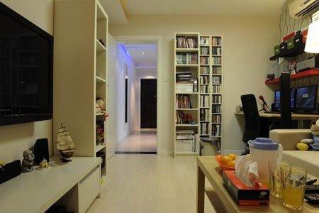老房子装修效果图 30平米一居室超强变身