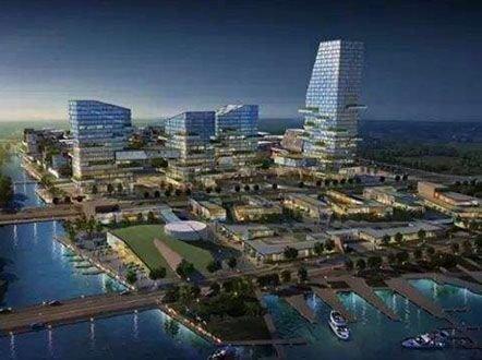 8.22丨文一将在肥东建150米超高建筑 合肥北部金融小镇打算出炉